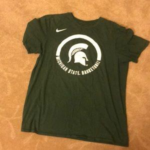 Michigan state  shirt